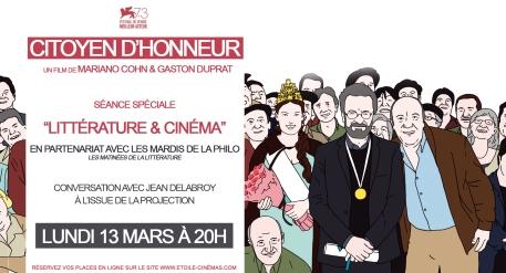 CITOYEN D'HONNEUR LES MARDIS DE LA PHILO V2